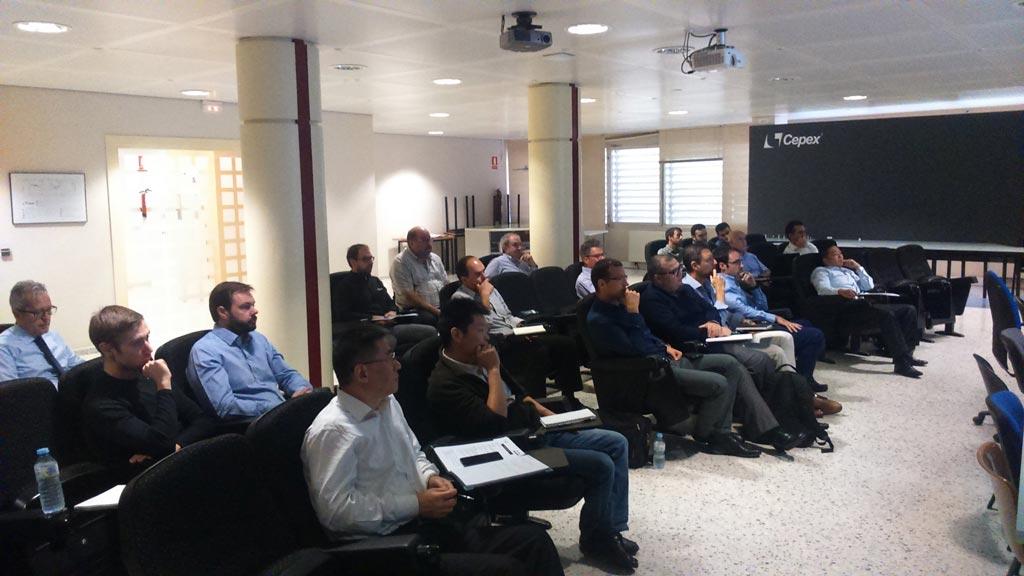 Industrial meeting